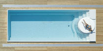 inground one-piece swimming pool (ceramic) SUNDECK SKIMMER AURA