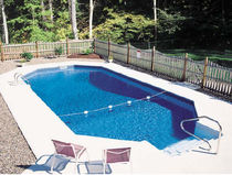 inground wall swimming pool (aluminium) GRECIAN SERIES Radiant Pools