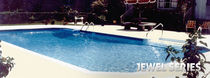 inground wall swimming pool (aluminium) JEWEL SERIES Radiant Pools