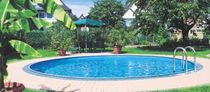 inground wall swimming pool (steel)  MTH