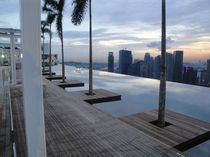 inground wall swimming pool (steel) ELEVATED/ROOFTOP STAINLESS STEEL POOL Natare Corporation