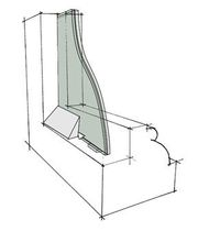insulated laminated glass panel HISTOGLASS MONO&amp;trade; Histoglass Ltd 