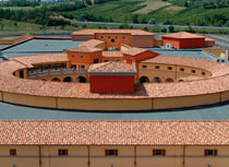 interlocking clay roof tile ROMANA - MILLENIUM COTTO SENESE