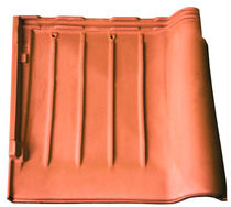 interlocking clay roof tile TF area industrie ceramiche