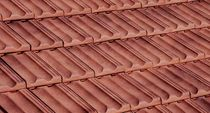 interlocking clay roof tile (large size) ANTIQUED VE-VA