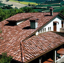 interlocking concrete roof tile COPPO DI GRECIA Monier Braas