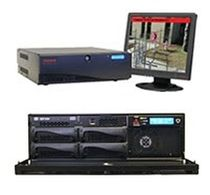 IP format video recorder for remote monitoring RAPID EYE™ HYBRID HD ACTIVE ALERT® Honeywell Security
