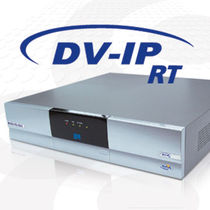 IP format video recorder for remote monitoring DV-IP RT DEDICATED MICROS