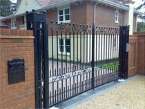 iron entrance gate  New Forest Metal Work