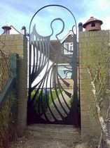 iron garden gate  New Forest Metal Work