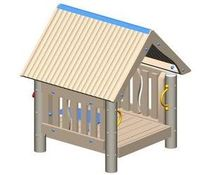 kid playhouse for playground MEC640-10 BigToys