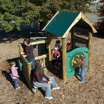 kid playhouse for playground MEC-648 ACTIVITY BigToys