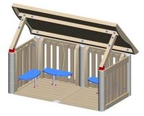 kid playhouse for playground MEC-108 Clubhouse BigToys