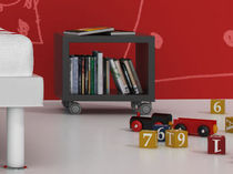 kids bed-side table (unisex) RED_2 by Vicente Gallega GRUPO CONFORTEC