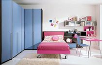 kids bed with casters (girls) MOSAIKO : A.4 Faer Ambienti