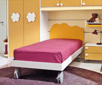 kids bed with casters (girls) MOSAIKO NUVOLA  Faer Ambienti