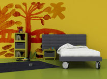 kids bed with casters (unisex) PLAY GRUPO CONFORTEC