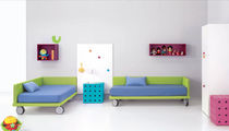 kids bed with casters (unisex) KID 4 BM 2000