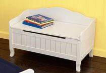 kids bench with toy box (unisex) NANTUCKET  KidKraft