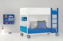 kids bunk bed with casters (boys) BABY 12 BM 2000