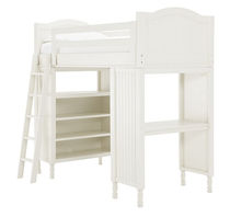 kids bunk bed with storage cabinets (unisex) CATALINA Pottery Barn Kids