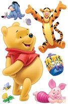 kids detachable vinyl wall sticker (unisex: Winnie the Pooh) POOH BEAR Vavex 1990