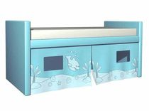 kids loft bed (boys) COMPACTO TRIBE GRUPO CONFORTEC