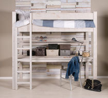 kids loft bed with desk (unisex) JANNIK Bopita
