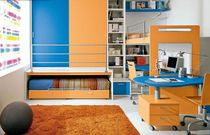 kids loft bed with desk (boys) MOSAIKO : S.3 Faer Ambienti
