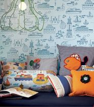 kids pattern wallpaper (boys) KAJ SAND BERG