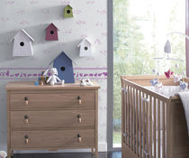 kids pattern wallpaper (girls) JACADI : 11091903 drapes n more furnishings