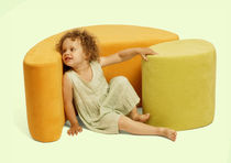 kids rocking-armchair (with PVC-free vinyl covering) TEA PODS  by Lisa Albin Design &amp; Ian Adelman Iglooparty