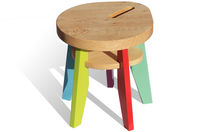 kids stool (finish in natural oil) PEPIN  NONAH