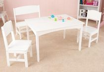 kids table and chairs set (unisex) NANTUCKET WHITE KidKraft