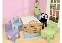 kids table and chairs set (unisex) NOAH'S ARK KidKraft