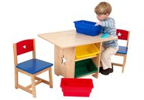 kids table and chairs set (unisex) STAR KidKraft