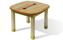 kids table (finish in natural oil) ALDABRA  NONAH
