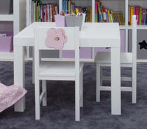 kids table and chairs set (girls) RINCON DE LECTURA Babyroom