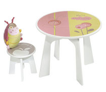 kids table and chairs set (girls) MAYA Sauthon