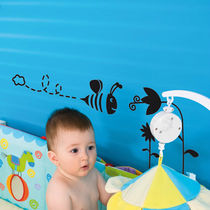 kids vinyl wall sticker (boys) LITLLE BEE 	 Paristic