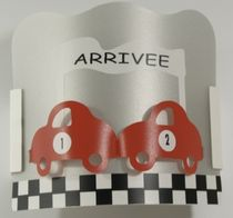 kids wall light (boys) APPLIQUE VOITURE CASSENOISETTE