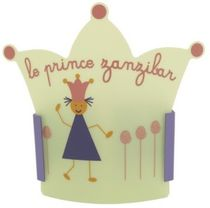 kids wall light (girls) LE PRINCE ZANZIBAR CASSENOISETTE