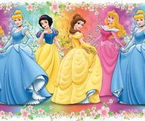 kids wall sticker (girls: princess) PRINCESS 5 Vavex 1990