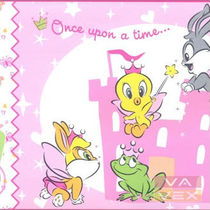 kids wallpaper border (girls: Tweety) 6120 Vavex 1990