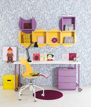 kids writing desk (girls) IDEA 11 Klou xl by Battistella