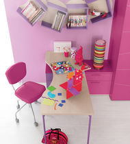 kids writing desk (girls) IDEA 9 Klou xl by Battistella