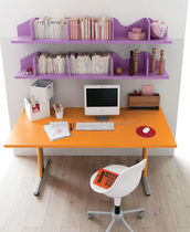 kids writing desk (girls) IDEA 5 Klou xl by Battistella