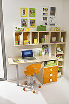 kids writing desk with shelf (unisex) ERESEM: 311 Colombini