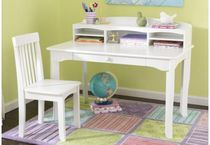 kids writing desk with shelf (unisex) AVALON KidKraft