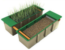 kit-set for leach field (reed bed) REED BEDS Klargester Environmental